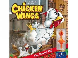Csirke darts játék (Chicken wings, ügyességi partijáték, 6-12 év)