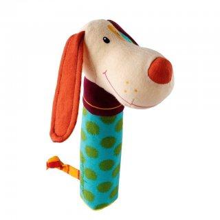 Csörgő, Jef, a kutyus (Lilliputiens, 86278, plüss bébijáték, 0-2 év)
