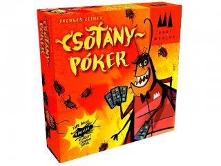 Csótánypóker (blöffölős stratégiai kártyajáték, 8-99 év)