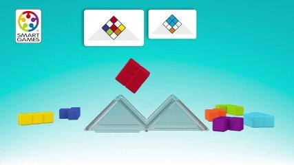 Cube Puzzler Go Smart Games logikai játék (80 feladvány, 8-99 év)