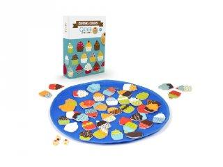 Cupcakes colors gyorsasági társasjáték (4-8 év)