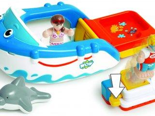 Danny, a búvárhajó (Wow Toys, hajós játék figurákkal, 1-5 év)