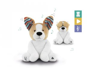Danny interaktív plüss kutya, babajáték (ZA)