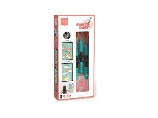 Darts kezdőkészlet Unikornis, ügyességi játék 38x60 cm (Scratch, 3-8 év)