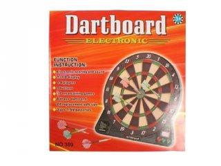 Darts tábla LED kijelzővel, ügyességi játék (10-99 év)