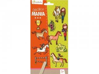 Decalco Mania, Satírozós matrica, Lovas (Avenue Mandarine, kreatív játék, 5-12 év)