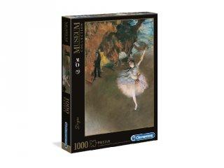 Degas: Táncosnő a színpadon puzzle, 1000 db-os kirakó (CLEM, 9-99 év)
