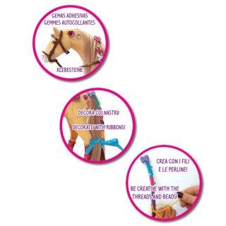 Dekorálható lovas készlet, szerepjáték, kreatív szett (4-7 év)