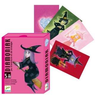 Diamoniak (Djeco, 5117, tündéres, boszis stratégiai kártyajáték, 5-9 év)