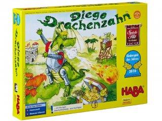 Diego, a sárkány (Haba, logikai és ügyességi társasjáték, 5-99 év)