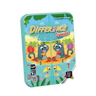 Difference Junior (Gigamic, megfigyelés-gyorsaság reflexjáték, 4-99 év)