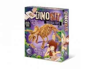 Dínó felfedező készlet, Triceratops , Buki tudományos játék (8-14 év)