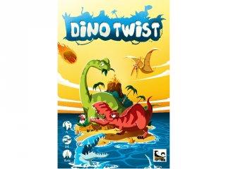Dino Twist társasjáték (BR, családi, szórakoztató társasjáték, 7-99 év)