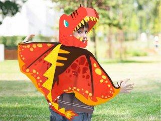 Dinoszaurusz jelmez készítő, kreatív szett (Avenir, 5-8 év)