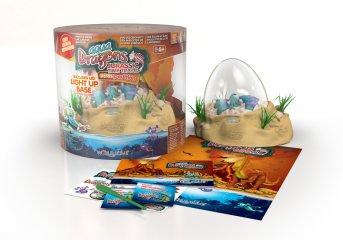 Dinoszaurusz keltető LED világítással (World Alive EggScavation, tudományos játék, 6-12 év)