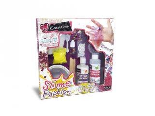 Divatos színek slime készítő készlet, kreatív szett (6-12 év)