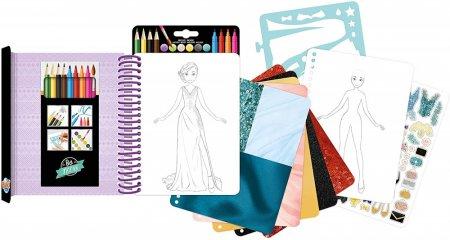 Divattervező füzet Estélyi ruhák, Buki kreatív játék (6-12 év)