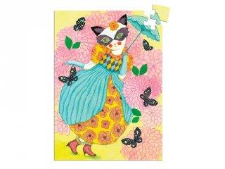 Djeco 60 db-os mini puzzle, Miss tigri (7677)