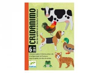 Djeco Cridanimo, Állati hangos stratégiai kártyajáték (5109, 6-10 év)