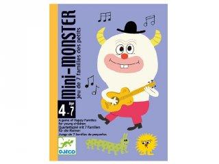 Djeco családgyűjtő kártyajáték, Mini Monster (5124, 4-7 év)