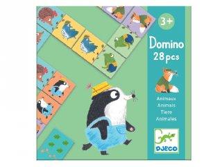 Djeco dominó, Állatok  (8115, párosító logikai játék, 2-5 év)