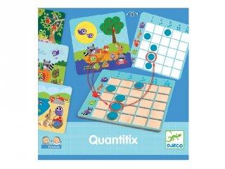 Djeco Eduludo Quantitix, matematikai logikai játék (8358, 4-6 év)