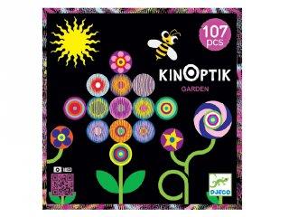 Djeco Kinoptik 107 db-os 3D optikai puzzle, Kert (5602, 5-8 év)