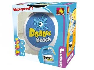 Dobble Beach (Waterproof, Asmodee, megfigyelés gyorsaság kártyajáték, 4-12 év)