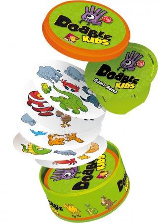 Dobble Kids (Asmodee, megfigyelés gyorsaság kártyajáték, 4-7 év)