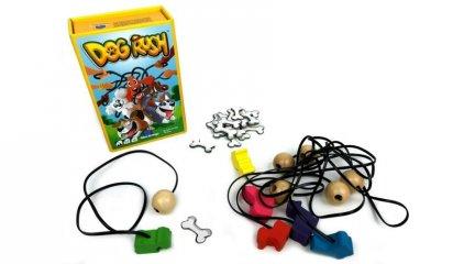 Dog Rush Kutyakaland, ügyességi társasjáték (6-12 év)