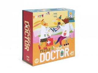 Doktor szeretnék lenni! puzzle, 36 db-os kirakó (3-6 év)
