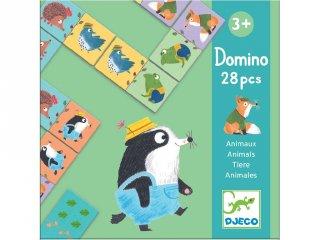 Dominó, Apró állatok (Djeco, 8115, első társasjáték, 3-6 év)