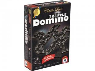 Dominó, Háromszögű (Schmidt, logikai játék, 6-99 év)