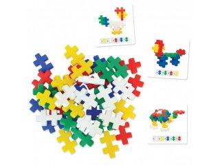 Double cross, Síkban és térben (Smartian, logikai építőjáték, 2-8 év)