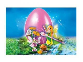 Drágakő tündérek húsvéti tojás (Playmobil, szerepjáték lányoknak, 4-10 év)