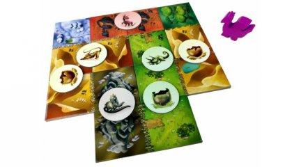 Dragomino a Sárkánytojások nyomában, családi taktikai társasjáték (5-10 év)