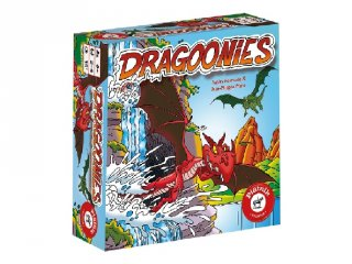 Dragoonies, Sárkánykereső (PI, gyorsasági megfigyelős kártyajáték, 6-12 év)