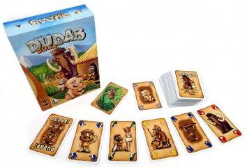 Dudab Buba, stratégiai kártyajáték, új kiadás (8-99 év)