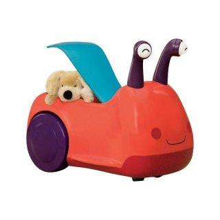 Dudáló és világító szemű csigajárgány (B.Toys, állatos babajármű, 1-3 év)