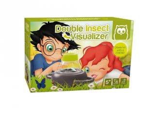 Dupla rovarnézegető, tudományos játék, ahol a bogárnak nem esik bántódása! (5-12 év)