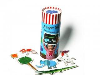 Dzsungel állatok, mágneses játék (Purple Cow, fejlesztő játék, 3-5 év)