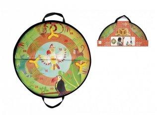 Dzsungel célba dobó, mágneses ügyességi játék (Scratch, 3-8 év)