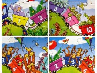 Dzsungel Expressz puzzle (Orchard, jungle express, 30 db-os puzzle, 3-6 év)
