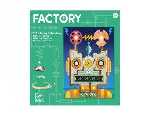 E-kreatív műhely Robotok, Djeco kreatív készlet - 9313 (8-14 év)