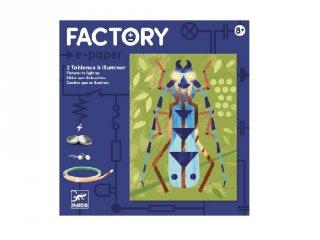 E-kreatív műhely Rovargyűjtemény, Djeco kreatív készlet - 9315 (8-14 év)
