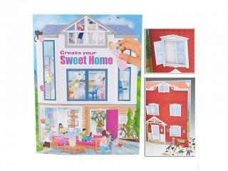 Édes otthon lakástervező (TM, háztervező füzet, 3-12 év)