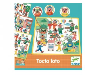 Eduludo, Lottó (Djeco, 8311, párosító társasjáték, 3-6 év)