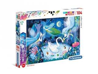 Egy mesebeli éjszaka puzzle, 104 db-os kirakó (CLEM, 6-8 év)