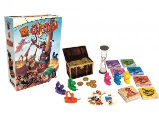 El Capitan (Gigamic, kalózos memória társasjáték, 6-99 év)