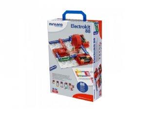 Electrokit 88, 28 db-os áramkörtervező, Miniland tudományos készlet (99101, 8-14 év)